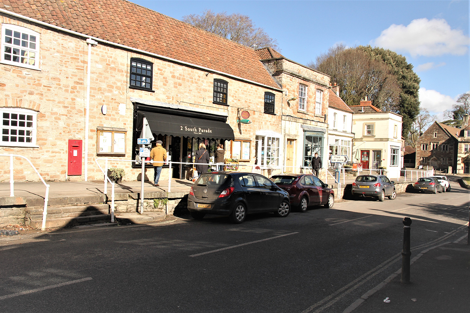 Image of Chew Magna village near Bristol