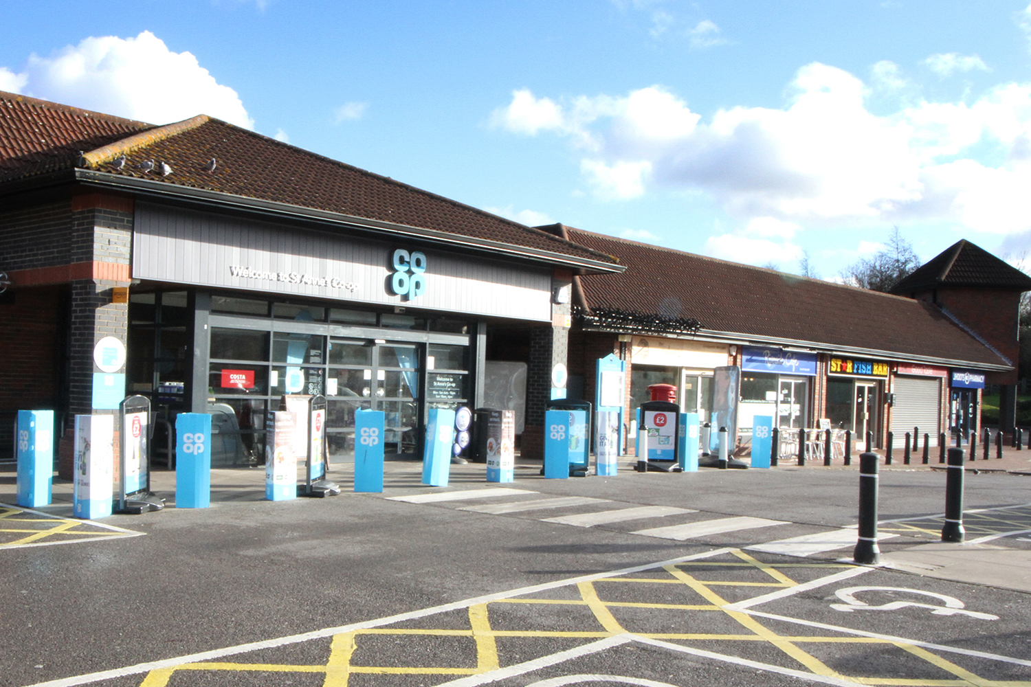 image of the Co op at St Annes