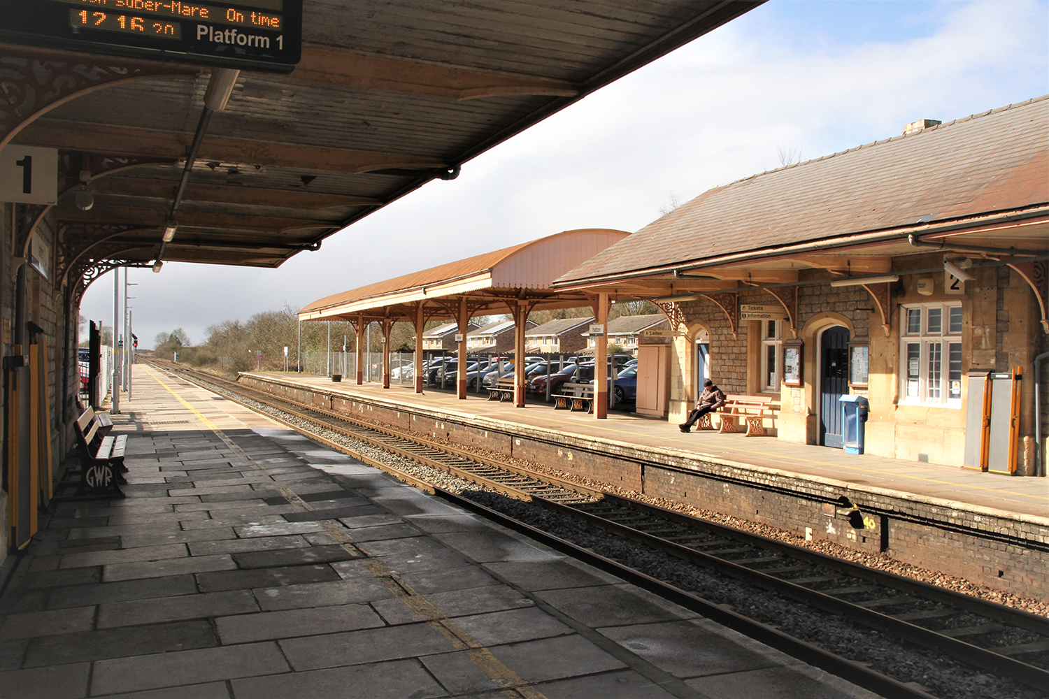 Image of Yatton Railway Station, Yatton, near Bristol